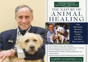 dr. martin goldstein, author of the nature of animal healing