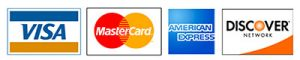 accepts all major credit cards