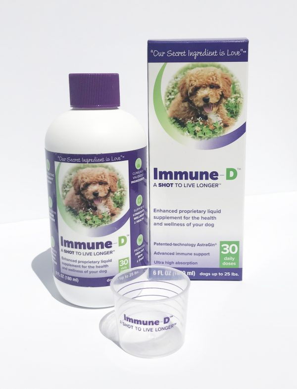 Immune-D liquid dog supplement Small