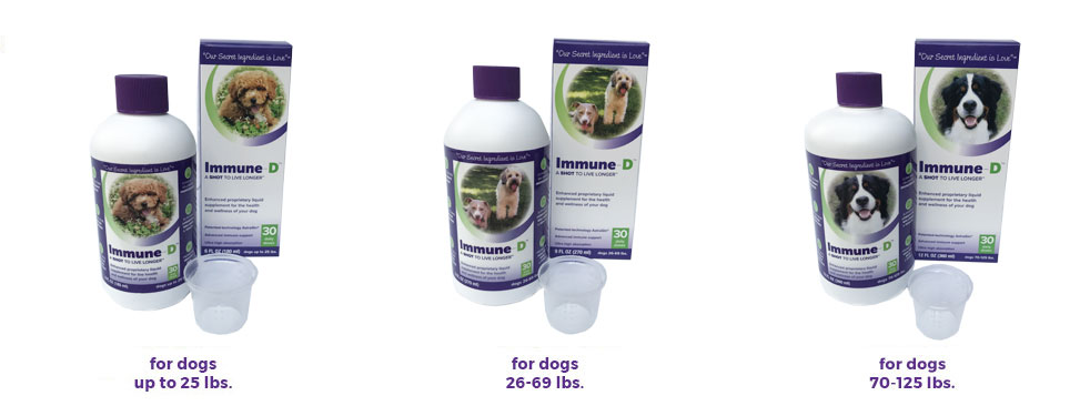liquid dog supplements immune-d