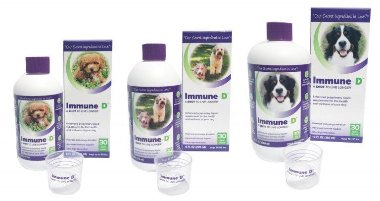 Immune-D Liquid Supplement For Dogs